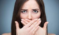 Acabar com mau hálito da boca