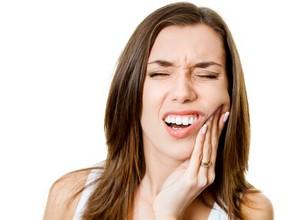 dente muito inflamado